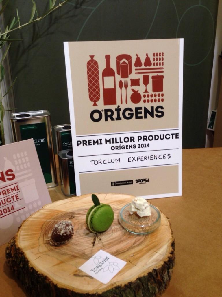 Premi millor producte orígens 2014