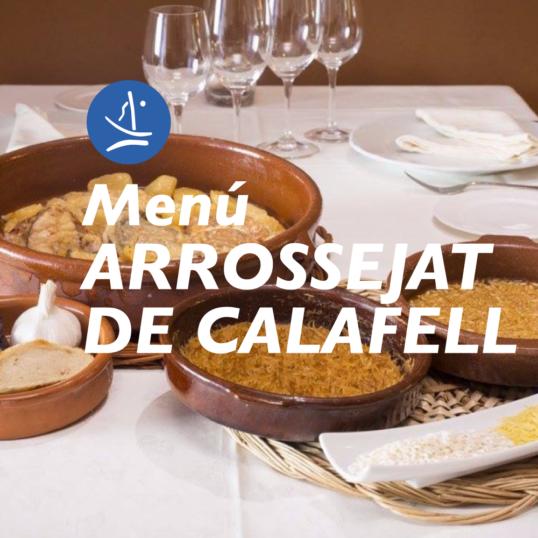 Menú Arrossejat de Calafell
