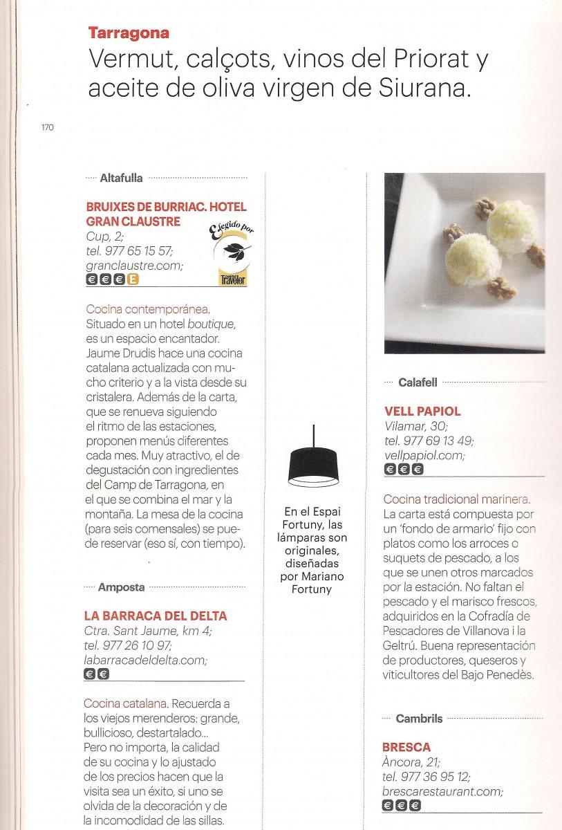guia gastronomia traveler tarragona